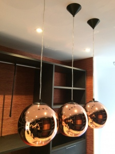 Suspension Tom Dixon en cuivre