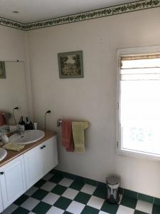 Salle d'eau avant travaux